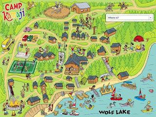 David Coulson, Camp Kamaji, Maps,