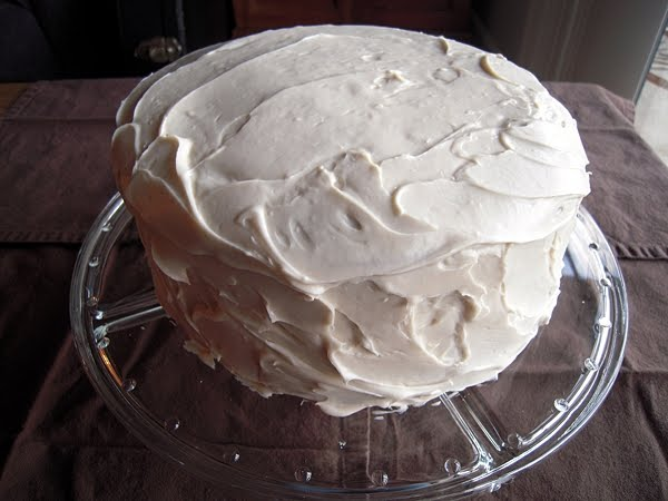 The Delightful Obligation: White Russian Cake