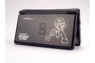 NDS Lite Metal Adorn Slice(Mario)