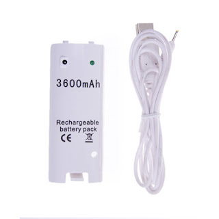 3600mAh Battery Pack for Wii Remote Controller