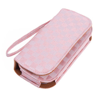Nice checker Pouch Bag for PSP2000