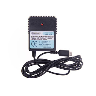 Electronic AC adapter for NDS Lite