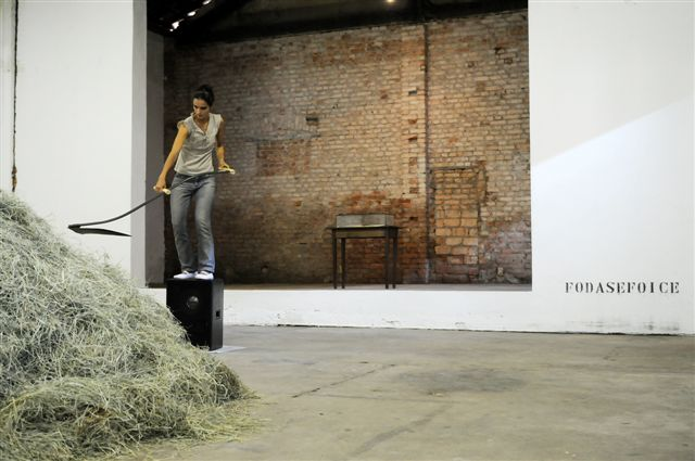 Sala Brasil + Gallery 32: Nuno Ramos: fodasefoice