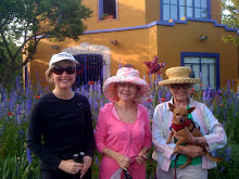 Wearing hats, Susan, Mary Ann and Ann