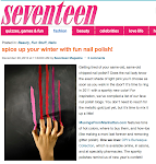 MFM is One of Seventeen's Favorite Nail Polish Blogs!