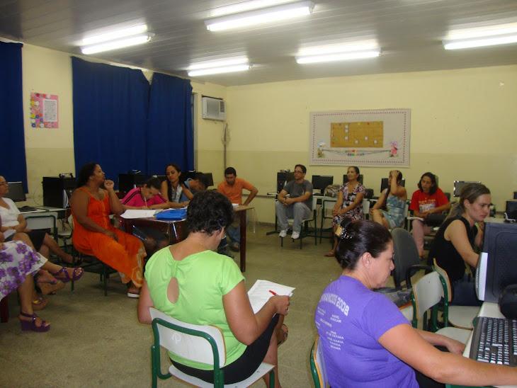 Reunião do Lançamento dos Candidatos para Formação do Conselho Escolar.