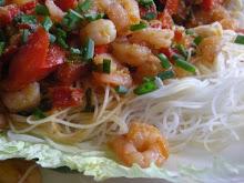 Shrimp Napa Wraps