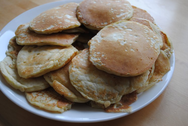 We have a pancake recipe that I have been using for over ten years.