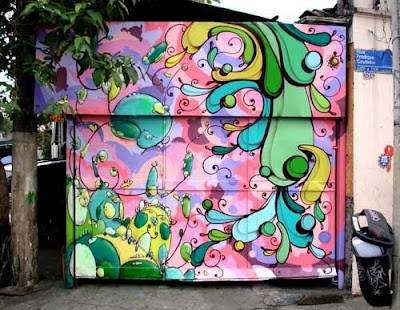 flower graffiti,cool graffiti flower