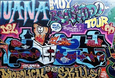 graffiti art,