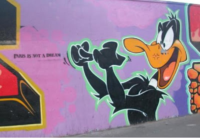 graffiti cartoon,donald duck graffiti