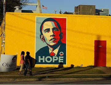 grafiti murals, barack obama graffiti
