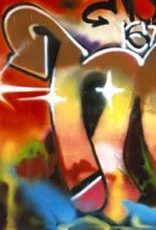 letter n, graffiti letter n