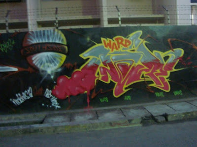 graffiti bubble,wall street graffiti