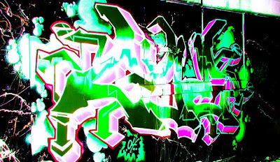 Graffiti tagging