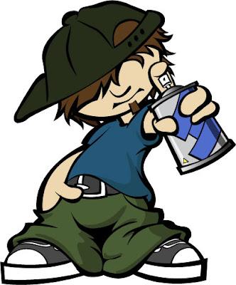 Graffiti Characters Cartoon