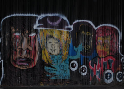graffiti mural,cartoon graffiti