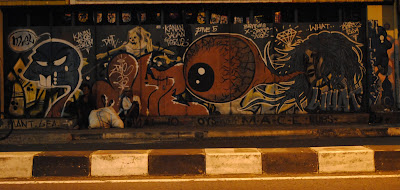 street graffiti, graffiti monsters