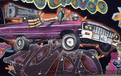 urban graffiti,graffiti car