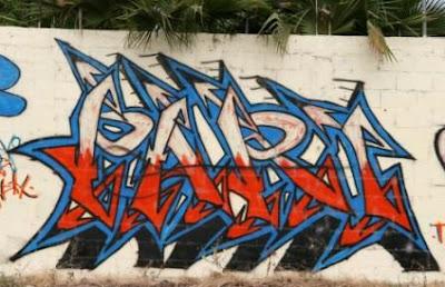 wall street,alphabet graffiti