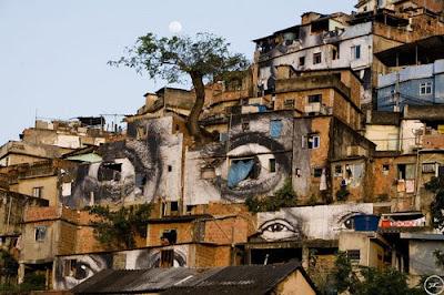 street art, eye graffiti
