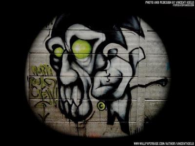 graffti, graffiti monster, wall street