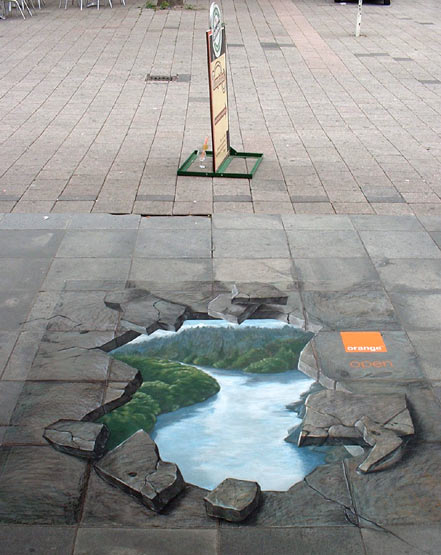 3D Animation Graffiti Art