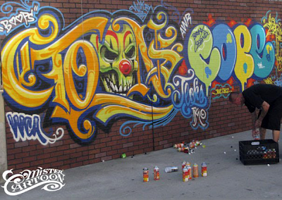 graffiti cope2, mister cartoon