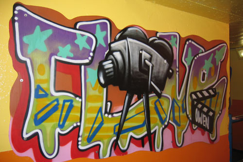 letter graffiti. letter graffiti subway