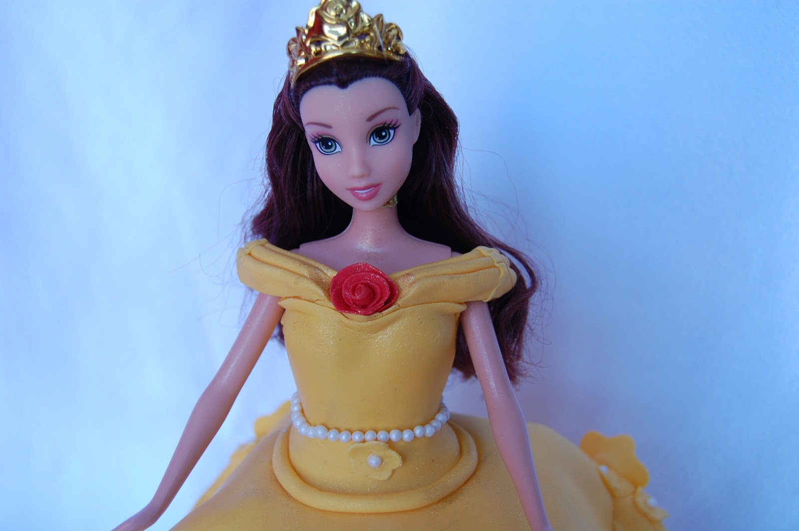 CUSTOMISED CAKES BY JEN Disney Princess Belle Cake