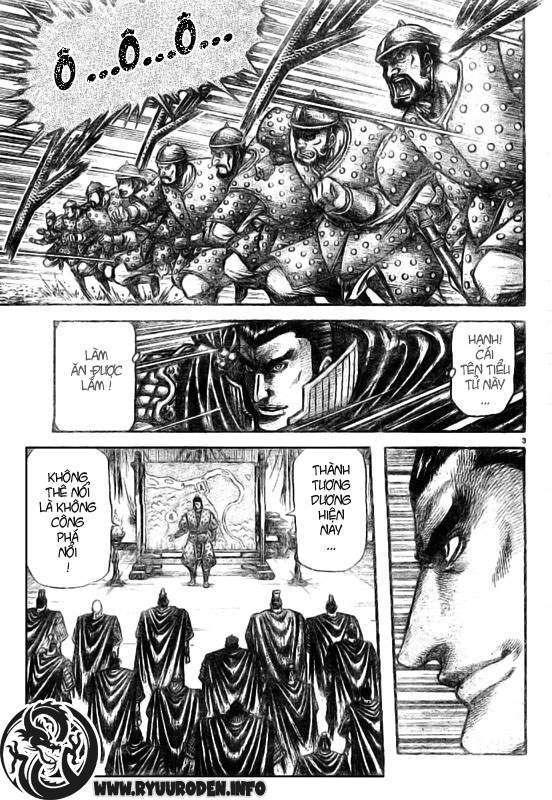 Chú bé rồng-Ryuuroden chap 186 Trang 4 - Mangak.info