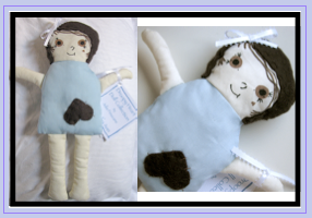 blue rag doll by julia finucane