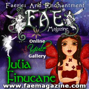 FAE Magazine Faeries and Enchantment Yule Gallery banner
