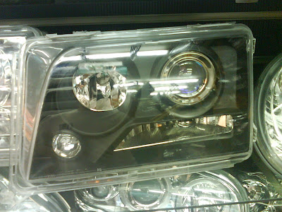W124 E Class HeadLamp 370 Black Projector Latest Design