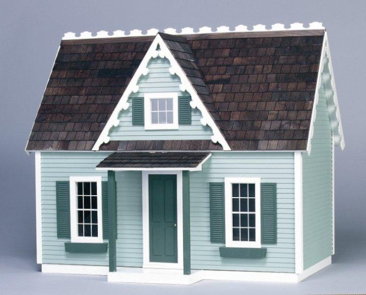 How To Shingle A Dollhouse Five Dollar Dollhouse