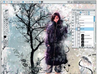 колаж с фотошоп