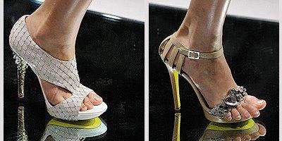вечерни дамски сандали