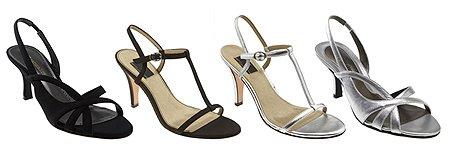Атрактивни дамски сандали сребро