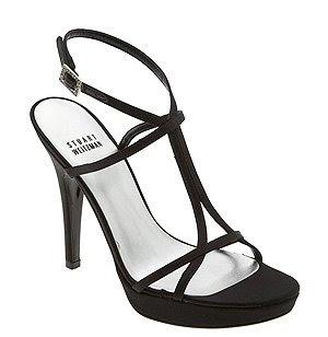 класически черни сандали на ток