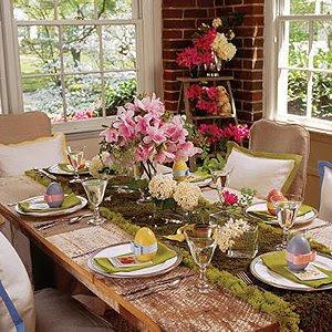 Оригинална украса за маса за Великден