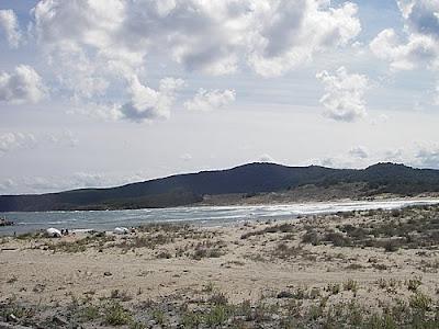 Плаж Аркутино - див плаж около Приморско