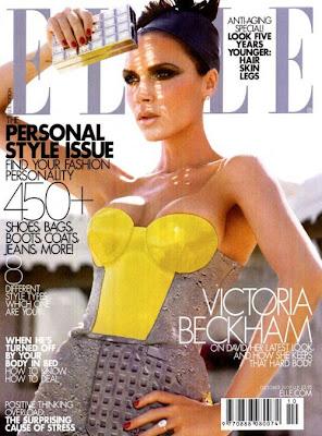 Виктория Бекъм - момиче от корицата на Elle US