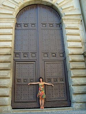 площада на катедралата в Толедо