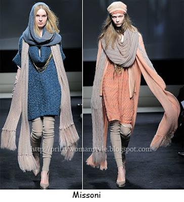 дълги шалове