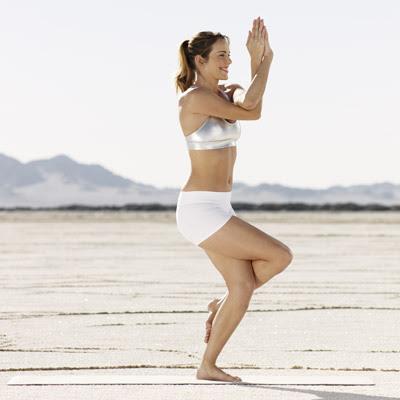 Йога против Целулит - орел
