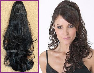 опашка от изкуствена коса