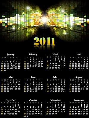 ексклузивен календар 2011