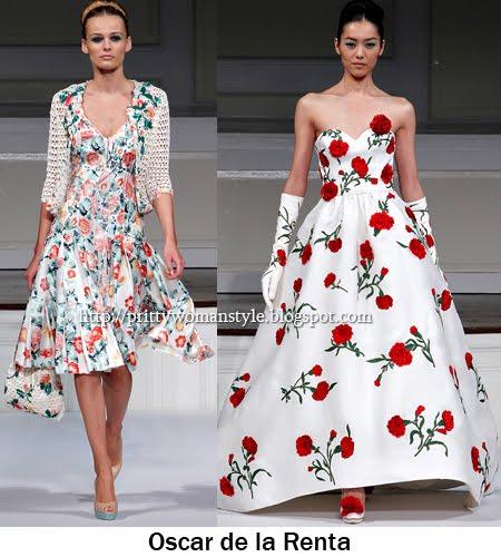 Мода пролет-лято - Флорални принтове
