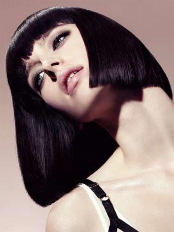прическа за средно дълга коса