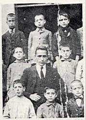 Mi abuelo Ignacio, con Miguel Hernandez
